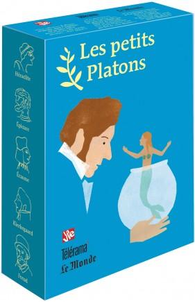 Livre philosophie pour les enfants – Coffret bleu 5 petits Platons