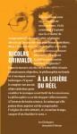 Livre dialogue philosophique - Nicolas Grimaldi - À la lisière du réel
