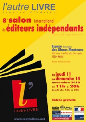 Affiche Salon de l'Autre Livre 2010