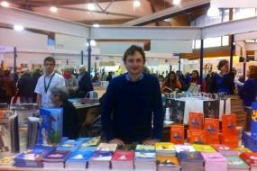 Jean Paul Mongin à la Foire du livre de Brive-la-Gaillarde