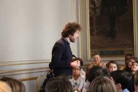 Yan Marchand à l'Odéon le 2 avril 2016